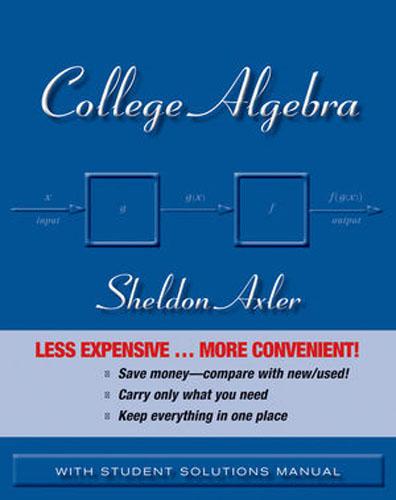 College Algebra mm uckerman zuckerman complete solutions to even–numbered exercises for college algebra etc