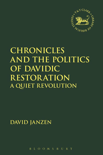 Chronicles and the Politics of Davidic Restoration: A Quiet Revolution red tide the chronicles of the exile 3