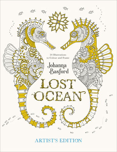 Lost Ocean Artist's Edition the great big art history colouring book