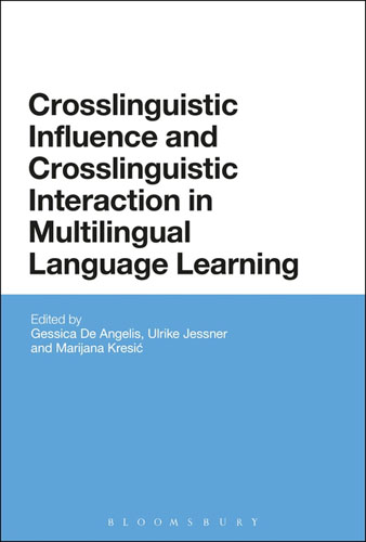 Crosslinguistic Influence and Crosslinguistic Interaction in Multilingual Language Learning herbert w seliger second language research methods