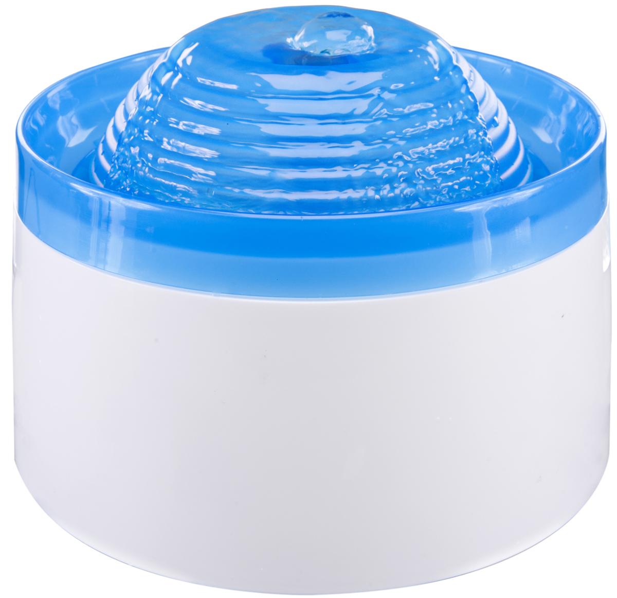 Поилка-фонтанчик Penn-Plax  Fountain , цвет: белый. голубой, объем 1,9 л - Аксессуары для кормления