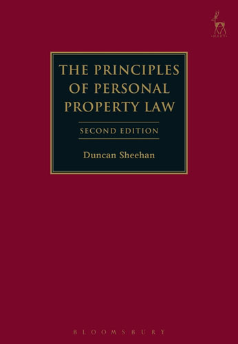 The Principles of Personal Property Law tort law