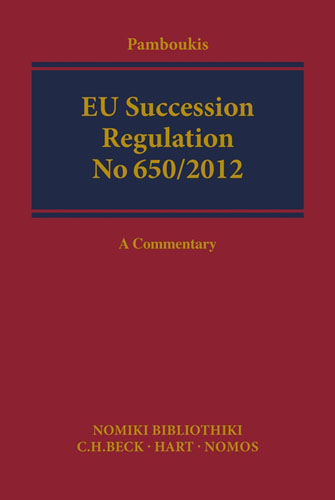 EU Succession: A Commentary cases materials and text on consumer law