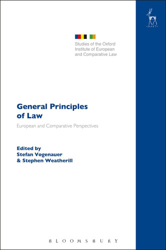General Principles of Law: European and Comparative Perspectives european ways of law