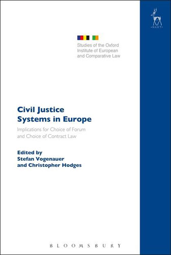 Civil Justice Systems in Europe: Implications for Choice of Forum and Choice of Contract Law juvenile law violators human rights and the development of new juvenile justice systems