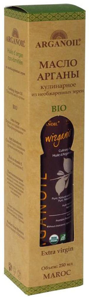 ArganOil масло арганы из необжаренных зерен, 250 мл70018BIO продукт высокого качества используется в завершении процесса приготовления пищи для придания аромата блюдам на пару или салатам. Несколько капель масла, добавленных в блюдо, придадут ему особый вкус. Уникальные свойства масла Арганы объясняются его химическим составом: масло на 80% состоит из ненасыщенных жирных кислот, включая около 35% олиго-линолиевых кислот, которые не вырабатываются в организме человека и могут быть получены только извне. Наличие этих кислот в организме препятствуют старению клеток кожи и снижают риск сердечно-сосудистых заболеваний. Масло содержит витамин А и большое количество витамина Е. Масло Арганы богато натуральными антиоксидантами – полифенолами и токоферолами, которые выводят из организма токсины и шлаки. Обладает противовоспалительным эффектом, защищает клетки человеческого организма от разрушения под воздействием вредных свободных радикалов.
