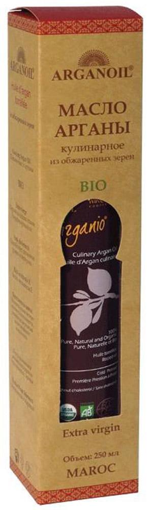 ArganOil масло арганы из обжаренных зерен, 250 мл70032BIO продукт высокого качества используется в завершении процесса приготовления пищи для придания аромата блюдам на пару или салатам. Несколько капель масла, добавленных в блюдо, придадут ему особый вкус. Уникальные свойства масла Арганы объясняются его химическим составом: масло на 80% состоит из ненасыщенных жирных кислот, включая около 35% олиго-линолиевых кислот, которые не вырабатываются в организме человека, и могут быть получены только извне. Наличие этих кислот в организме препятствуют старению клеток кожи и снижают риск сердечно-сосудистых заболеваний. Масло содержит витамин А и большое количество витамина Е. Масло Арганы богато натуральными антиоксидантами – полифенолами и токоферолами, которые выводят из организма токсины и шлаки. Обладает противовоспалительным эффектом, защищает клетки человеческого организма от разрушения под воздействием вредных свободных радикалов.