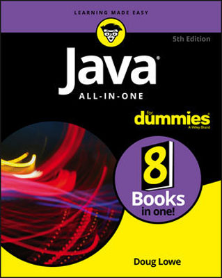 Java All-in-One For Dummies doug lowe java for dummies quick reference
