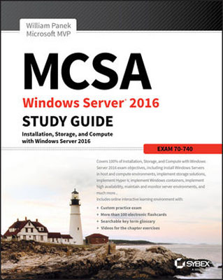 MCSA Windows Server 2016 Study Guide: Exam 70-740 david coleman d cwna certified wireless network administrator official study guide exam pw0 104