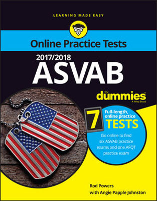 2017/2018 ASVAB For Dummies with Online Practice christopher danielson common core math for parents for dummies with videos online
