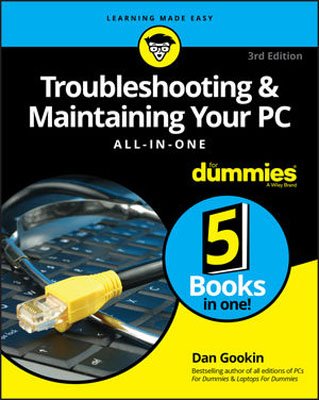 Troubleshooting & Maintaining Your PC All-in-One For Dummies цена и фото