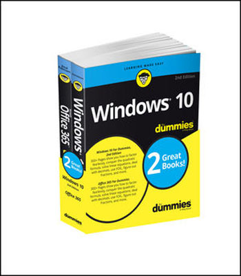 Windows 10 & Office 365 For Dummies, Book + Video Bundle elaine biech training and development for dummies