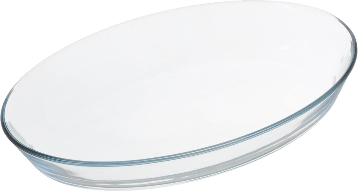 Форма для запекания Leifheit, овальная, 30 х 20 см874000050Форма для запекания Leifheit овальной формы выполнена из прочного жаростойкого стекла, которое выдерживает нагрев до +300°С. Форма не вступает в реакцию с готовящейся пищей, не выделяет никаких вредных веществ и не подвергается воздействию кислот и солей. Из-за невысокой теплопроводности пища в стеклянной посуде гораздо медленнее остывает. Поэтому в такой форме вы можете как приготовить пищу, так и изящно подать ее к столу, не меняя посуды. Благодаря прозрачности стекла за едой можно наблюдать при ее готовке. Стеклянная посуда очень удобна для приготовления и подачи самых разнообразных блюд. Посуду можно использовать в СВЧ и духовом шкафу при температуре до +300°С, ставить в морозилку при температуре до -40°С, а также мыть в посудомоечной машине.