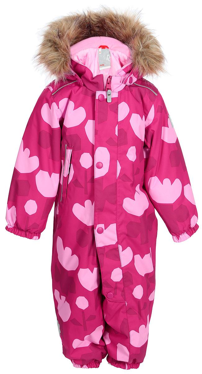 Комбинезон детский Reima Reimatec Nuoska, цвет: розовый. 510266B356. Размер 74 reima комбинезон bunny