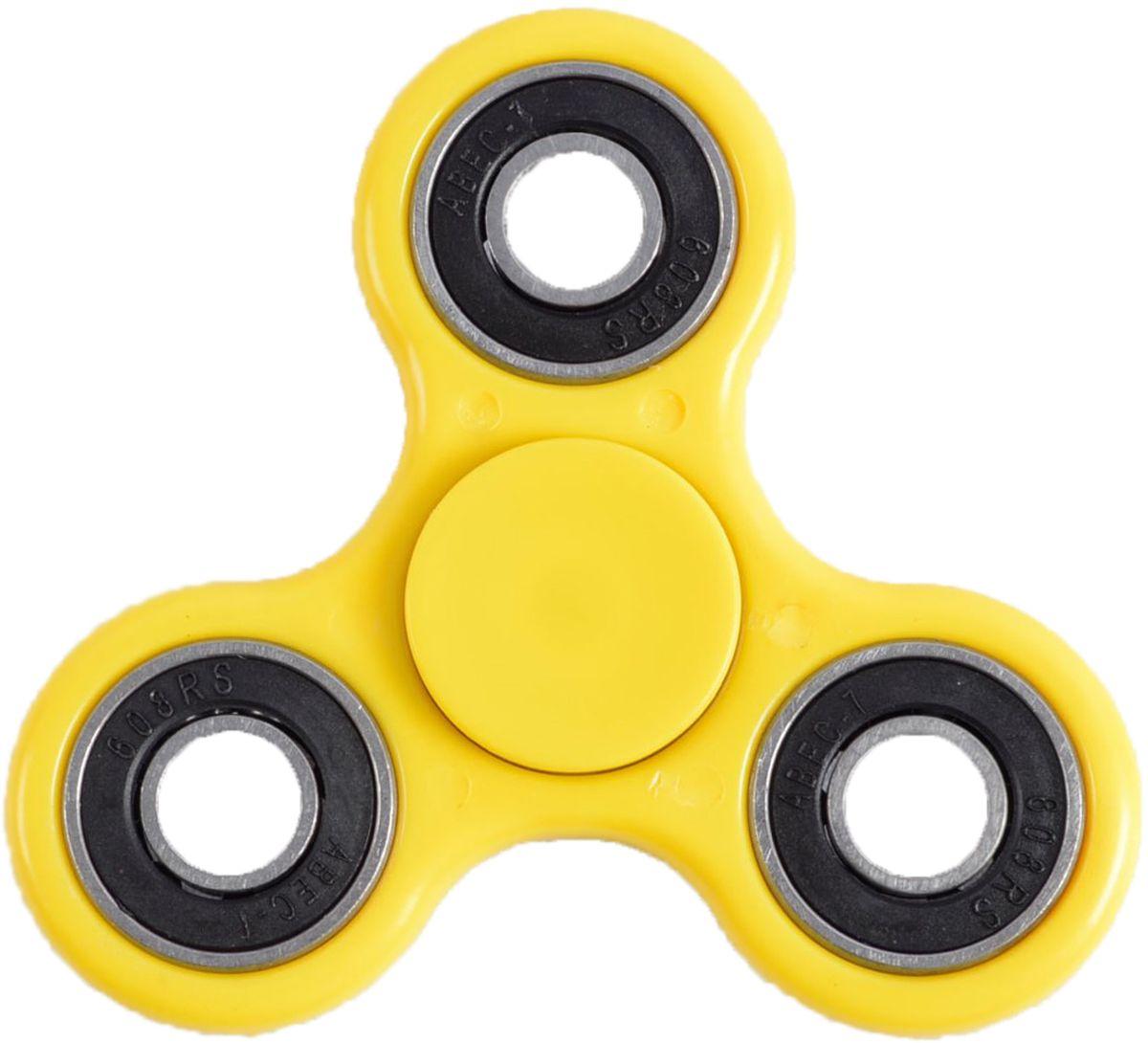 Fidget Spinner Спиннер цвет желтый спиннер fidget spinner megamind м7216 deluxe edition pink