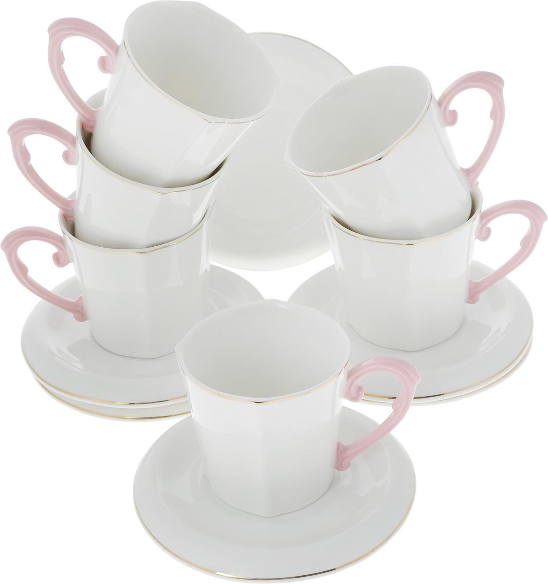Сервиз чайный Loraine Нежность, 12 предметов. 26644 alex игровой набор посуды чайный сервиз весна 16 предметов