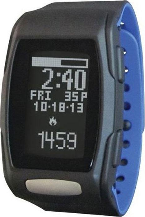 Фитнес часы LifeTrak 400, цвет: черный, синий - Бег