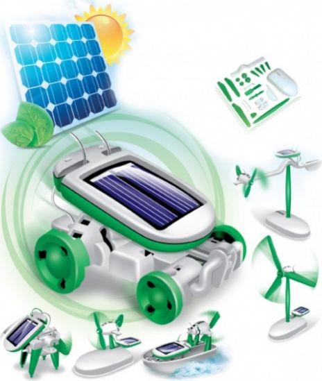 Cute Sunlight Конструктор 6в1 Solar Motion на солнечной батарее