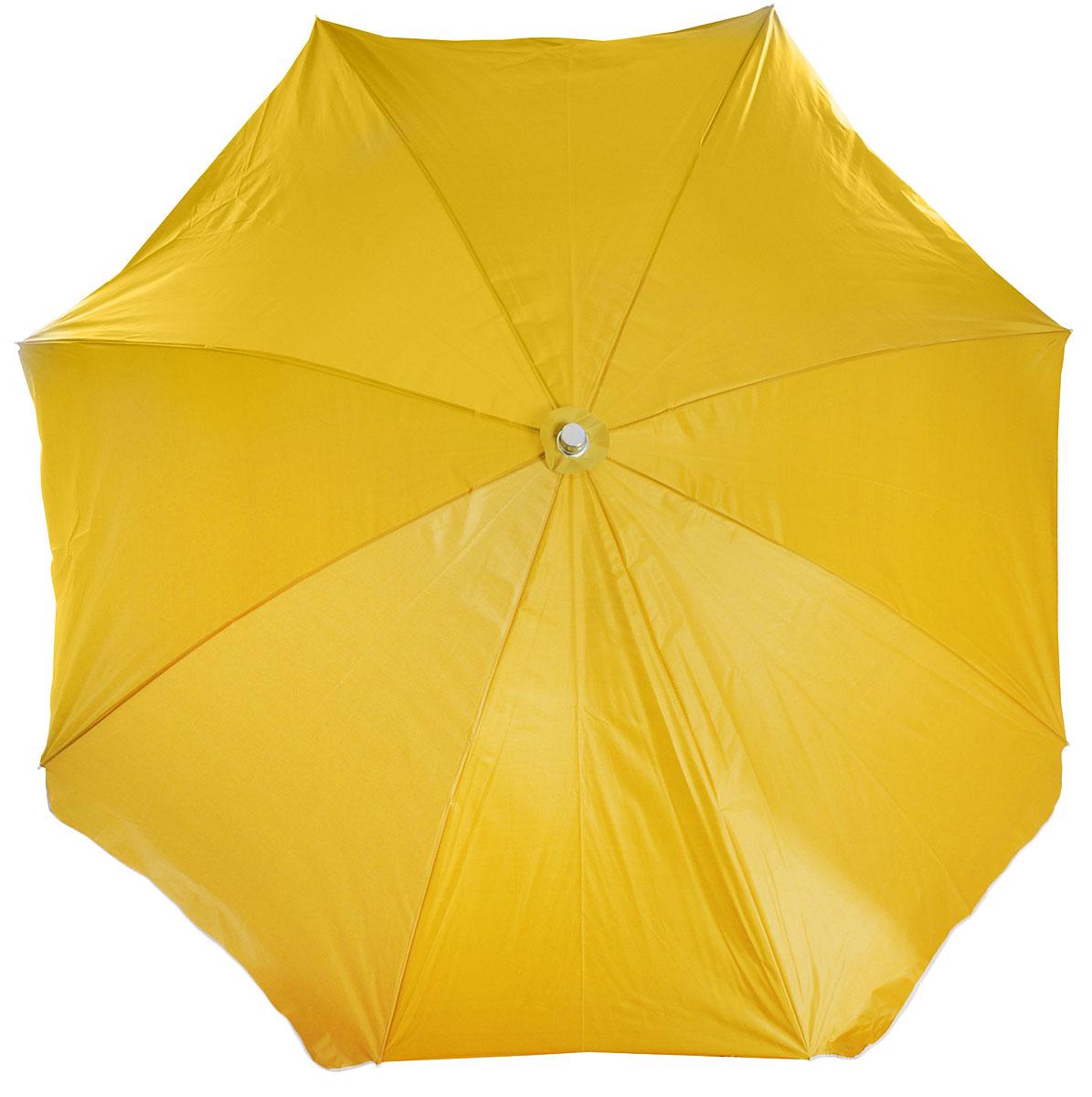 Зонт пляжный Wildman Робинзон, диаметр купола 250 см81-507Собираясь на пляж, на пикник или на дачу, не забудьте взять с собой пляжный зонт Wildman Робинзон. Это простое и очень удобное приспособление, которое просто необходимо на природе. Пляжный зонт способен эффективно защитить вас и ваших близких от палящего солнца. С ним вы сможете провести на природе гораздо больше времени. Пляжный зонт обладает высокой надежностью и функциональностью. Он прост в установке и при этом отличается высокой устойчивостью. Каркас изделия выполнен из прочной стали, купол из высококачественного полиэстера.Диаметр купола: 250 см.Высота зонта: 235 см.