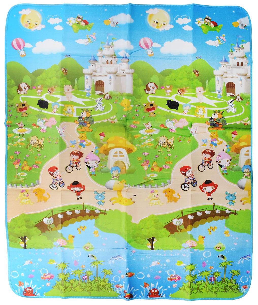 Коврик детский для пикника Wildman  Аниме , 150 х 180 см. 81-390 - Подушки, пледы, коврики