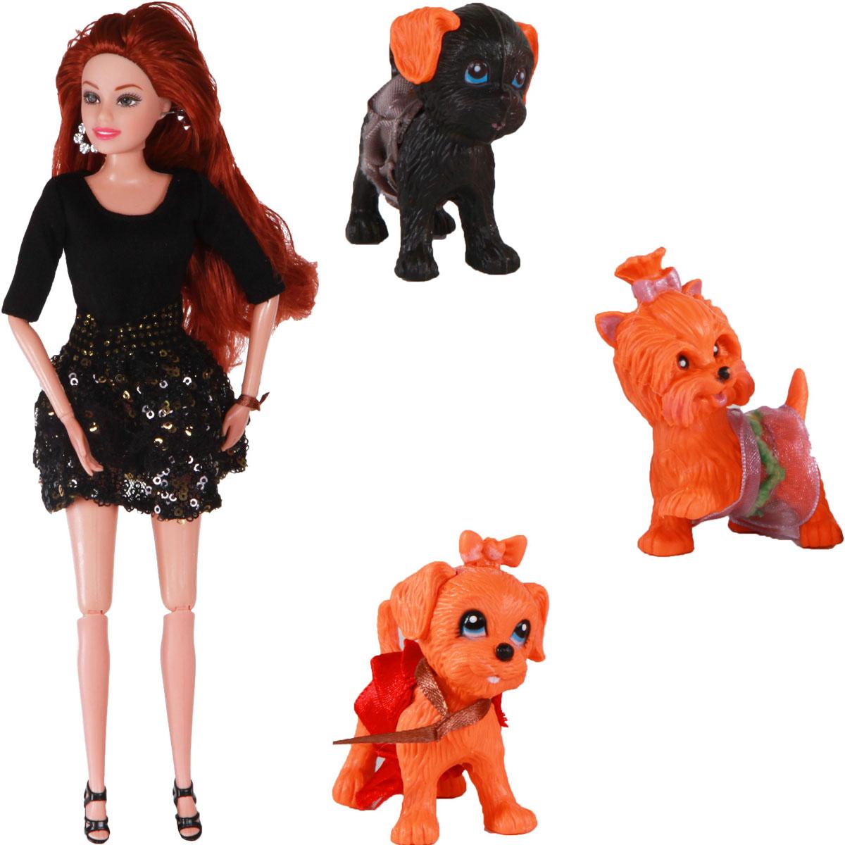 Yako Кукла Жанетт и забавные друзья M6583-1 yako кукла софи цвет платья бордовый