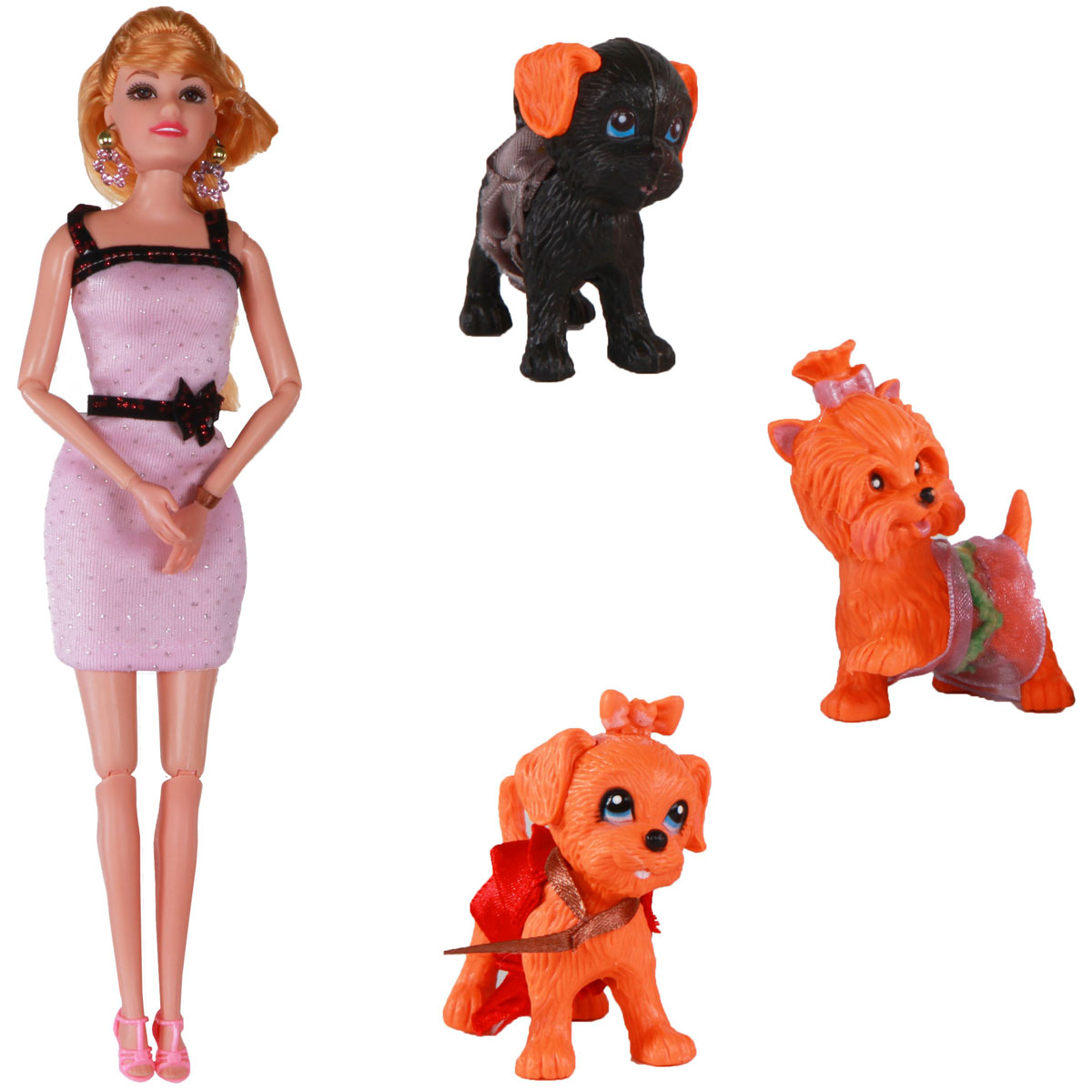 Yako Кукла Жанетт и забавные друзья M6583-3 кукла yako m6579 6