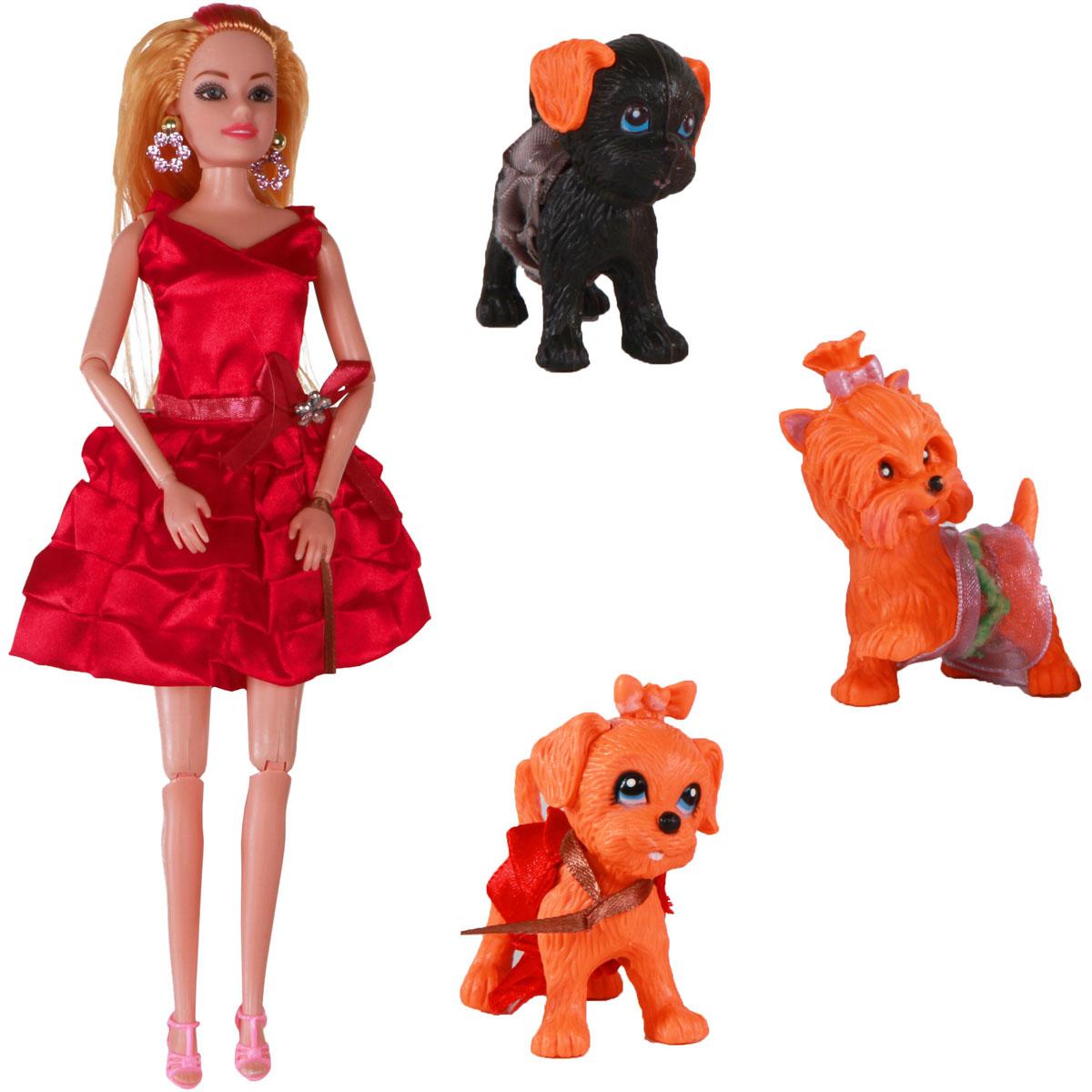 Yako Кукла Жанетт и забавные друзья M6583-5 yako кукла софи цвет платья бордовый