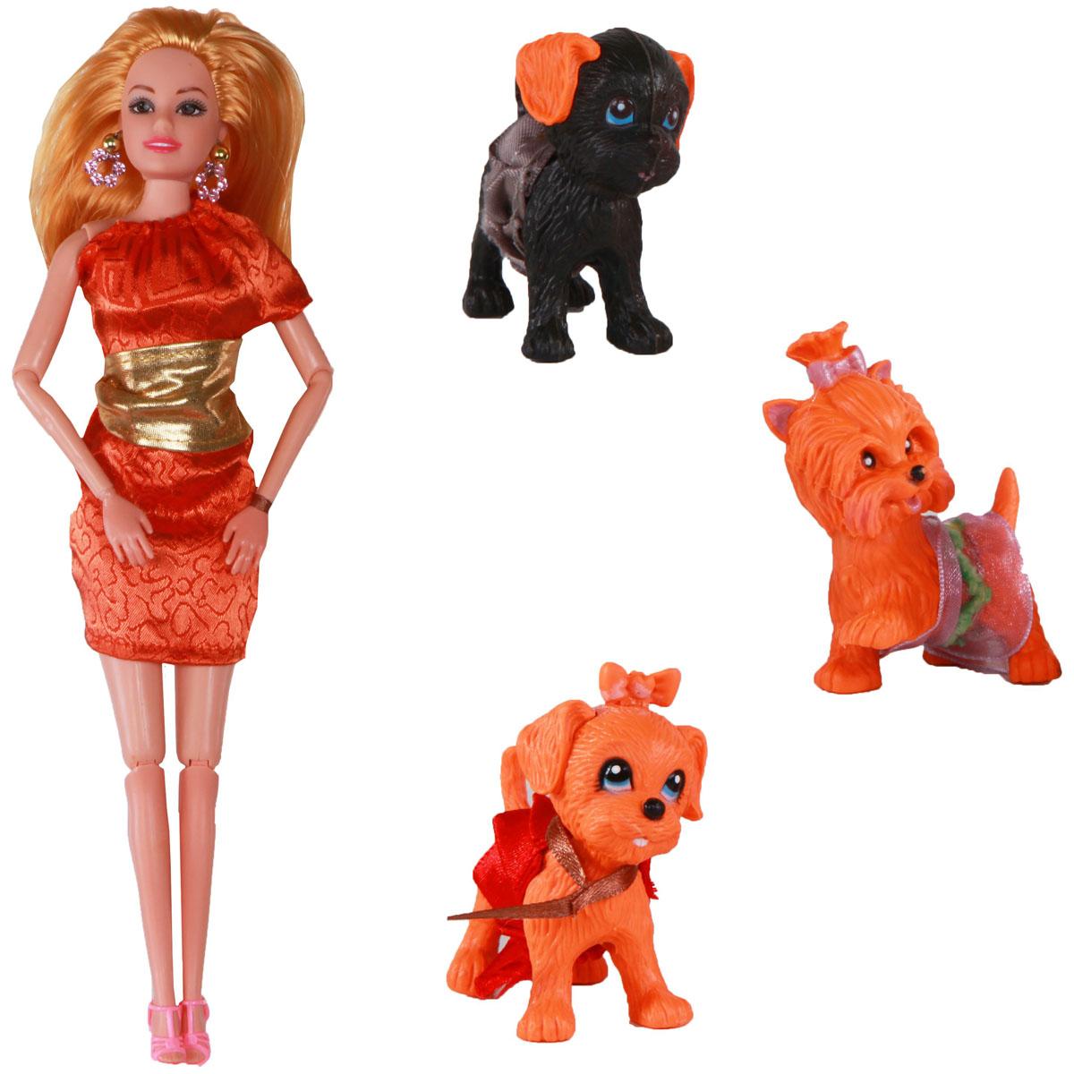 Yako Кукла Жанетт и забавные друзья M6583-6