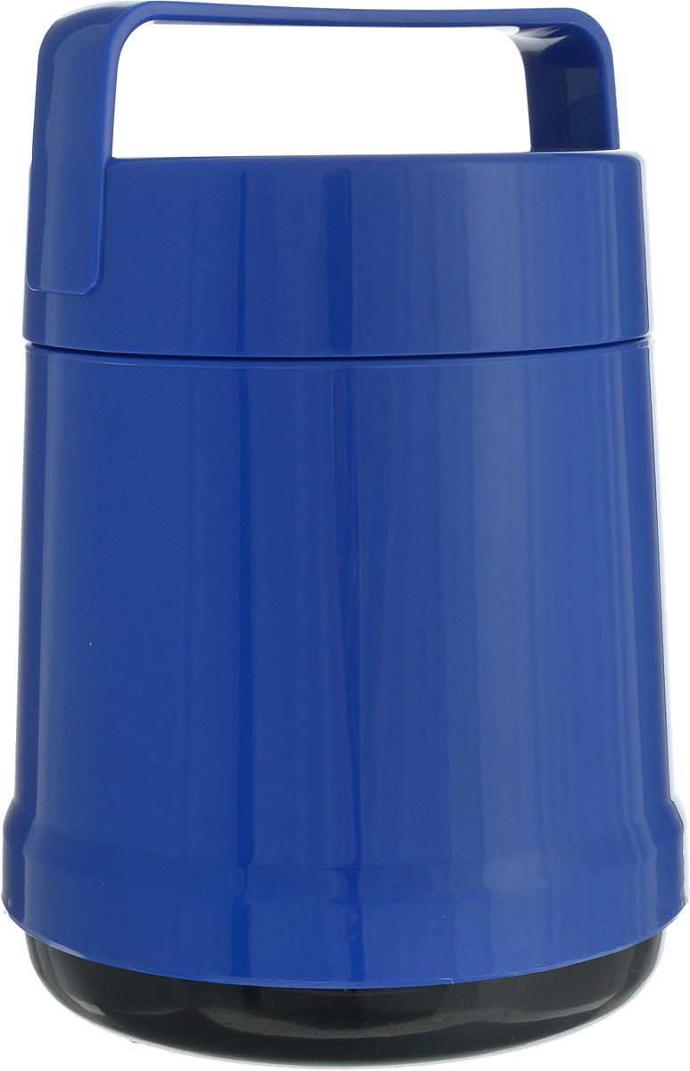 Термос для еды Emsa Rocket, цвет: синий, 1 л термос кофейник emsa soft grip 1 5 л