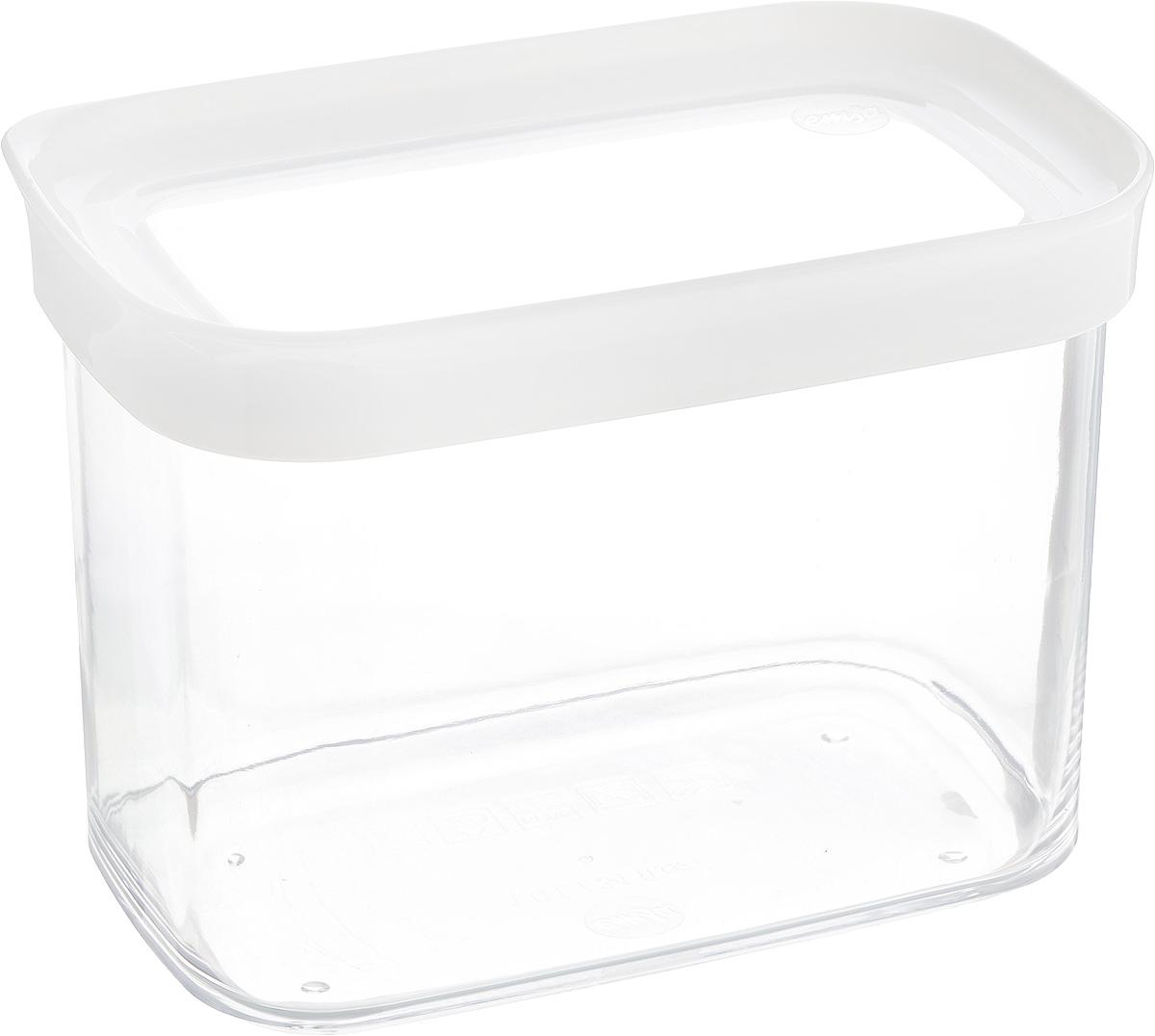 Контейнер для сыпучих продуктов Emsa Optima, 1 л контейнер для сыпучих продуктов emsa optima 2 8 л 515006
