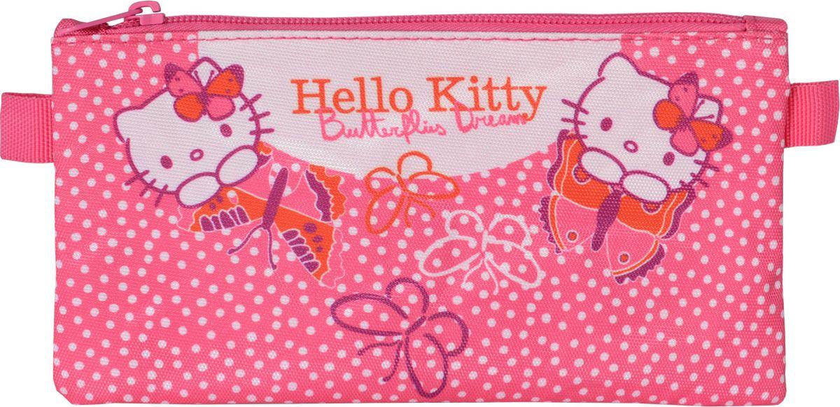 Action! Пенал Hello Kitty цвет розовыйHKO-APC4216/1Стильный пенал Action! - это супермодный аксессуар для вашего ребенка, который надежно сохранит все мелкие школьные принадлежности в целости и сохранности, защитив их от влаги. Аксессуар изготовлен из износостойкой, водонепроницаемой ткани, поэтому служить будет долго. Пенал декорирован стильным принтом и закрывается на молнию. Удобный пенал от Action! станет незаменимым спутником вашего ребенка в походах за знаниями.