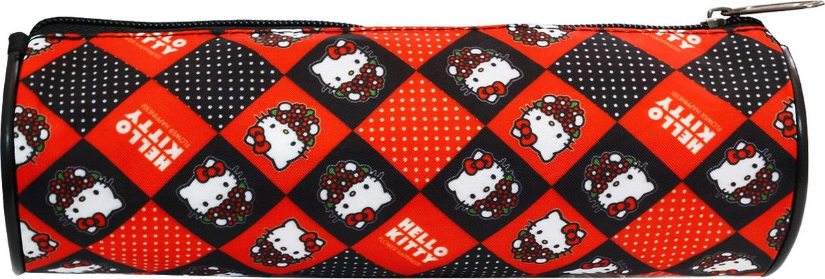 Action! Пенал-тубус Hello Kitty цвет красныйHKO-APC-4220/5Пенал-тубус Action Hello Kitty оформлен в черно-красную клетку с изображениями кошечки из мультфильма. Пенал выполнен из прочных материалов и закрывается на застежку-молнию. Состоит из одного вместительного отделения, в котором без труда поместятся канцелярские принадлежности.Такой пенал станет незаменимым помощником для школьника, с ним ручки и карандаши всегда будут под рукой и больше не потеряются.