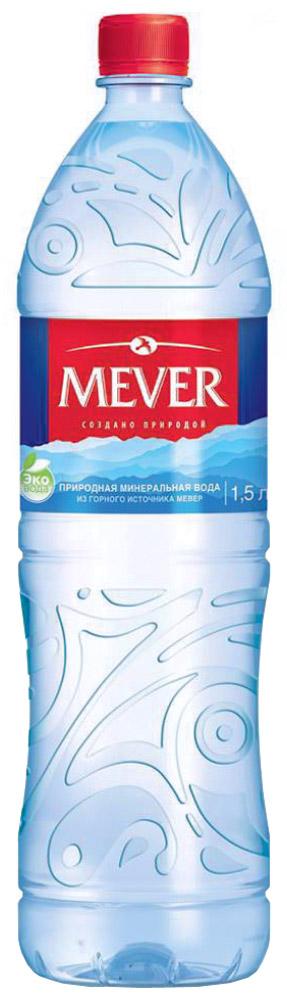 Мевер вода негазированная, 1,5 л volvic вода минеральная негазированная 0 5 л