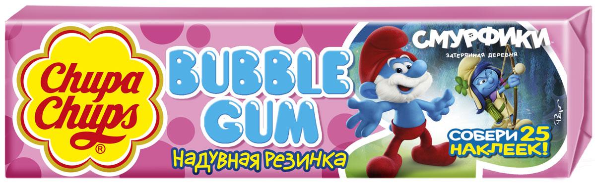 Chupa-Chups Bubble Gum Смурфики-3 жевательная резинка, 24 шт по 21 г ароматизатор chupa chups chp101
