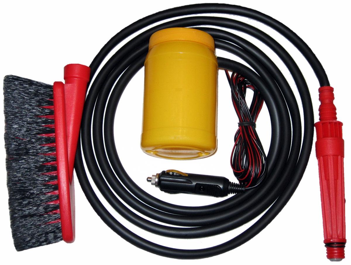 Минимойка Балио Компакт, без емкости. М100М100Минимойка Балио Компакт, работающая от прикуривателя - быстрый, надежный, аккуратный и экономный способ вымыть автомобиль, его двигатель и различные узлы, спрятанные под капотом. Автомобиль можно мыть и в зимний период. Мотор-насос российского производства, а насадка - мягкая щетка.Технические характеристики:- питание – постоянный ток,- напряжение - 12 В,- номинальный потребляемый ток – 4 А,- номинальный расход воды – 25 мл/с,- давление при расходе воды равном нулю - 25 кг/см2,- температура воды – до 45°С,- режим работы – повторно-кратковременный,- длина шланга – 3 м,- длина провода электропитания – 4 м.Как выбрать мойку высокого давления. Статья OZON Гид