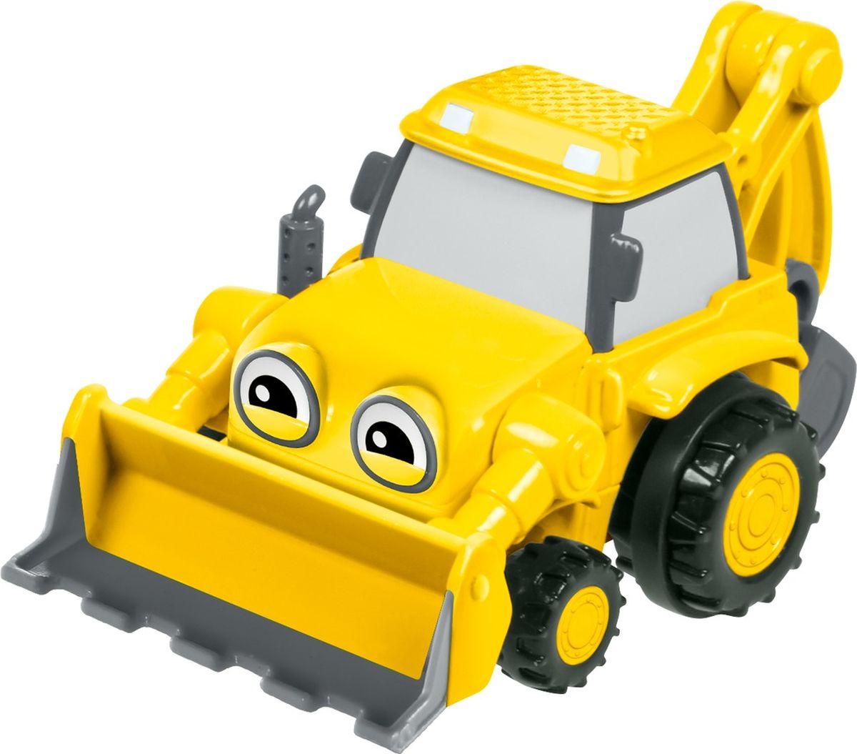 Bob the Builder Машинка инерционная цвет желтый пламенный мотор машинка инерционная volvo пожарная охрана