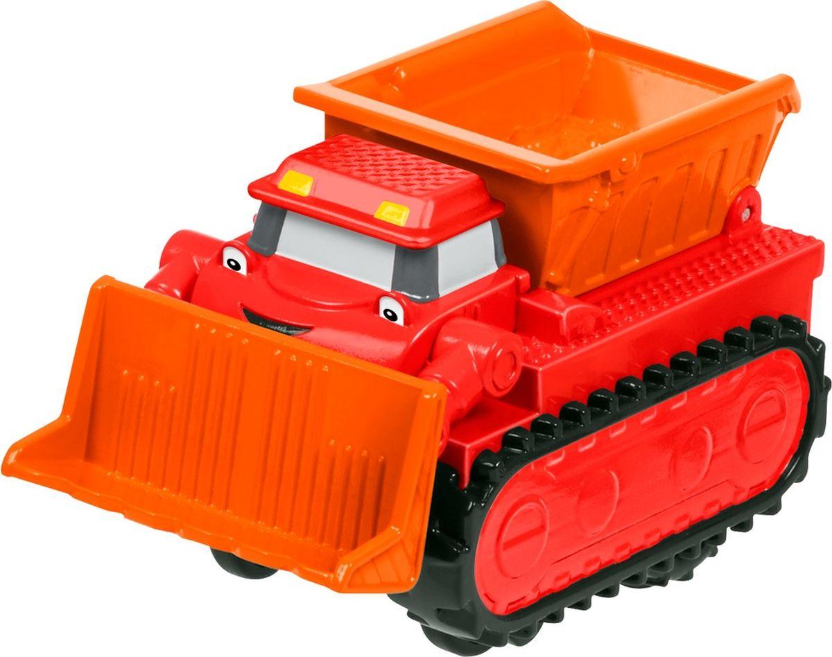 Bob the Builder Машинка инерционная цвет красный оранжевый пламенный мотор машинка инерционная volvo пожарная охрана