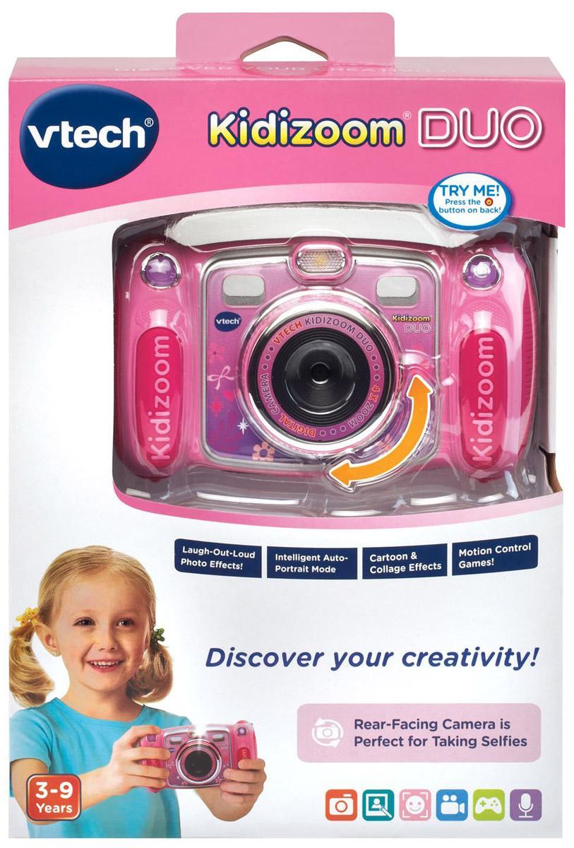 VtechДетская цифровая фотокамера Kidizoom Duo цвет розовый