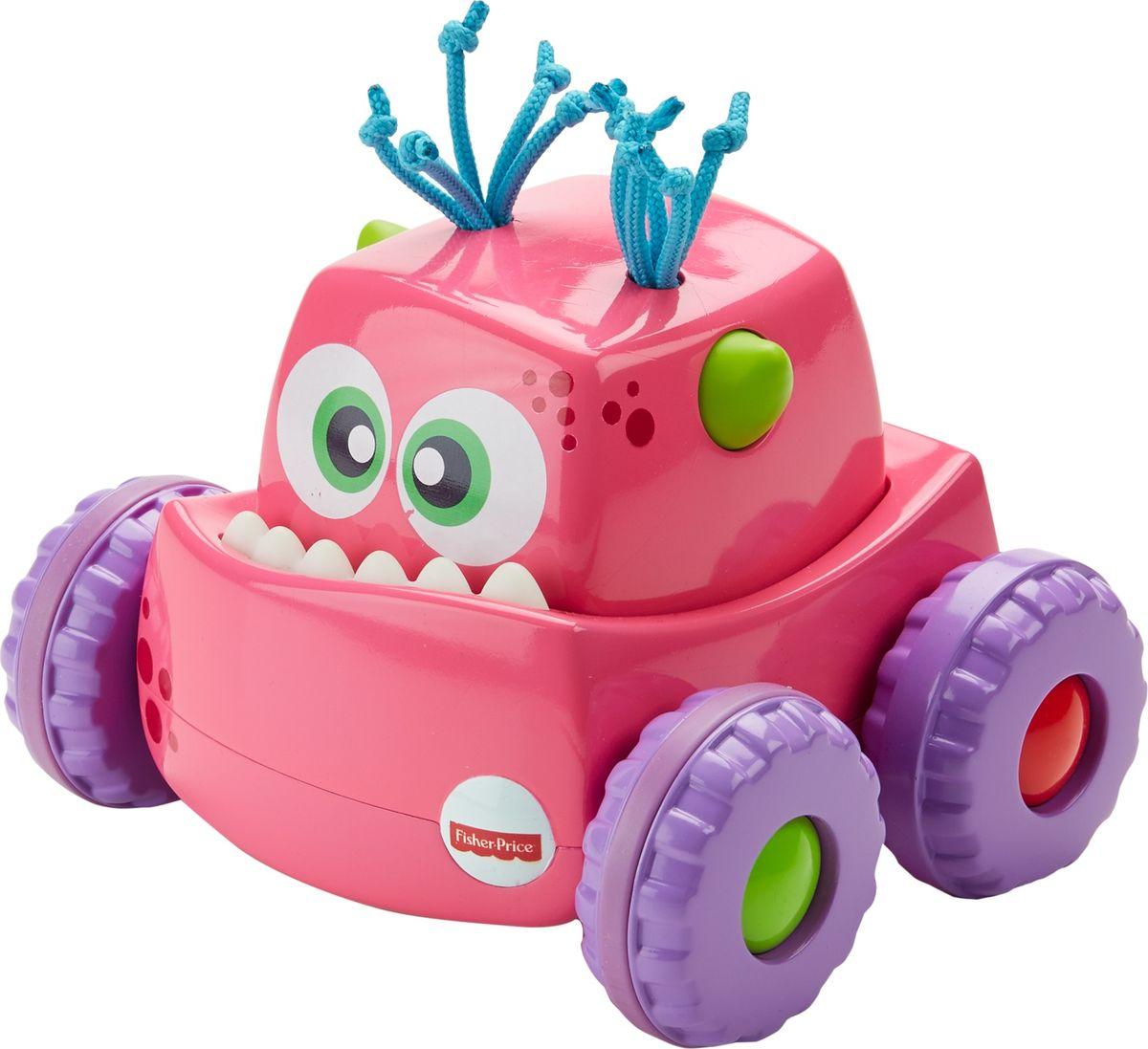 Fisher-Price Развивающая игрушка Инерционный монстрик цвет розовый fisher price развивающая игрушка пианино ученого щенка