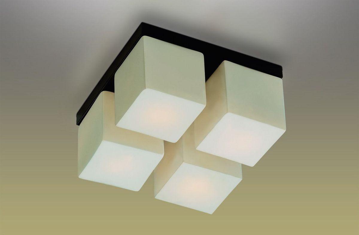 Люстра потолочная Odeon Light Cubet, 4 х E14, 40W. 2043/4C2043/4C