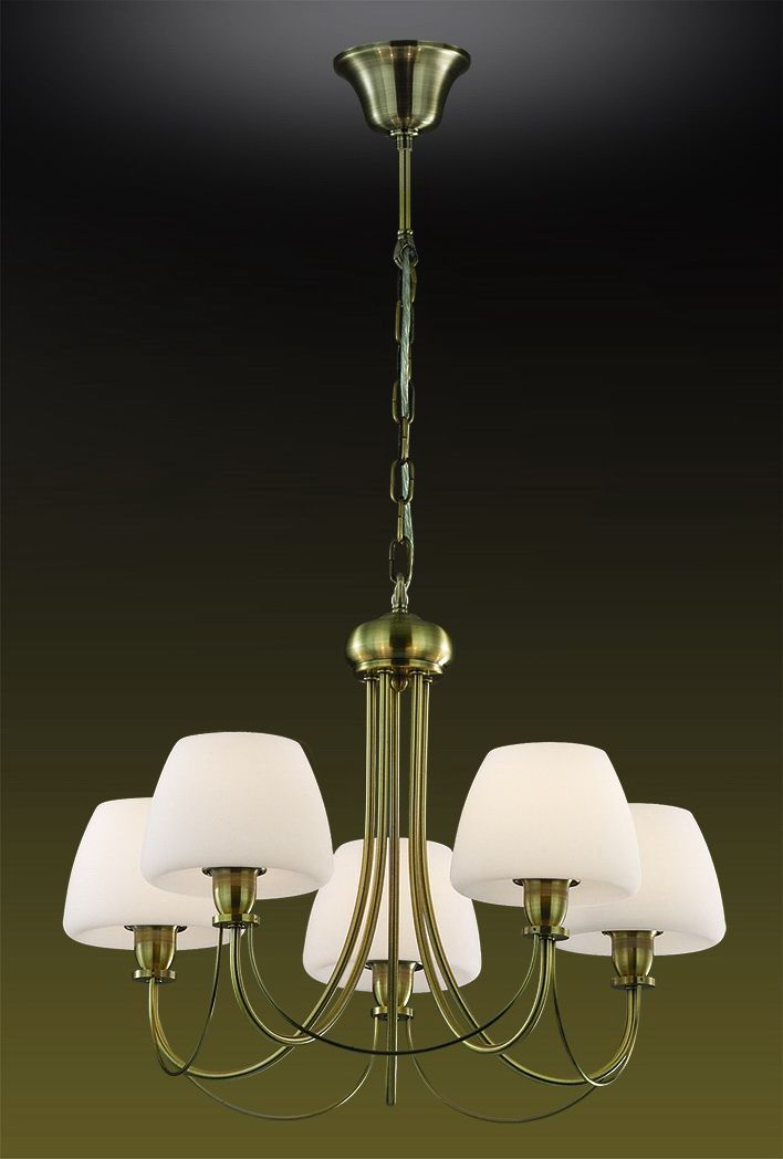 Люстра подвесная Odeon Light Vesto, 5 х E14, 60W. 2057/52057/5