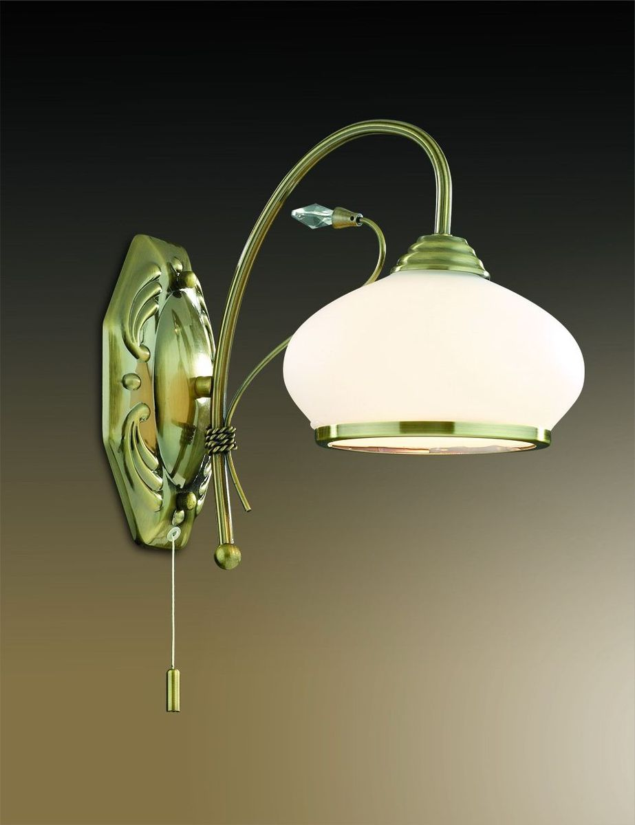 Бра Odeon Light Teura, 1 х E27, 60W. 2240/1W2240/1W