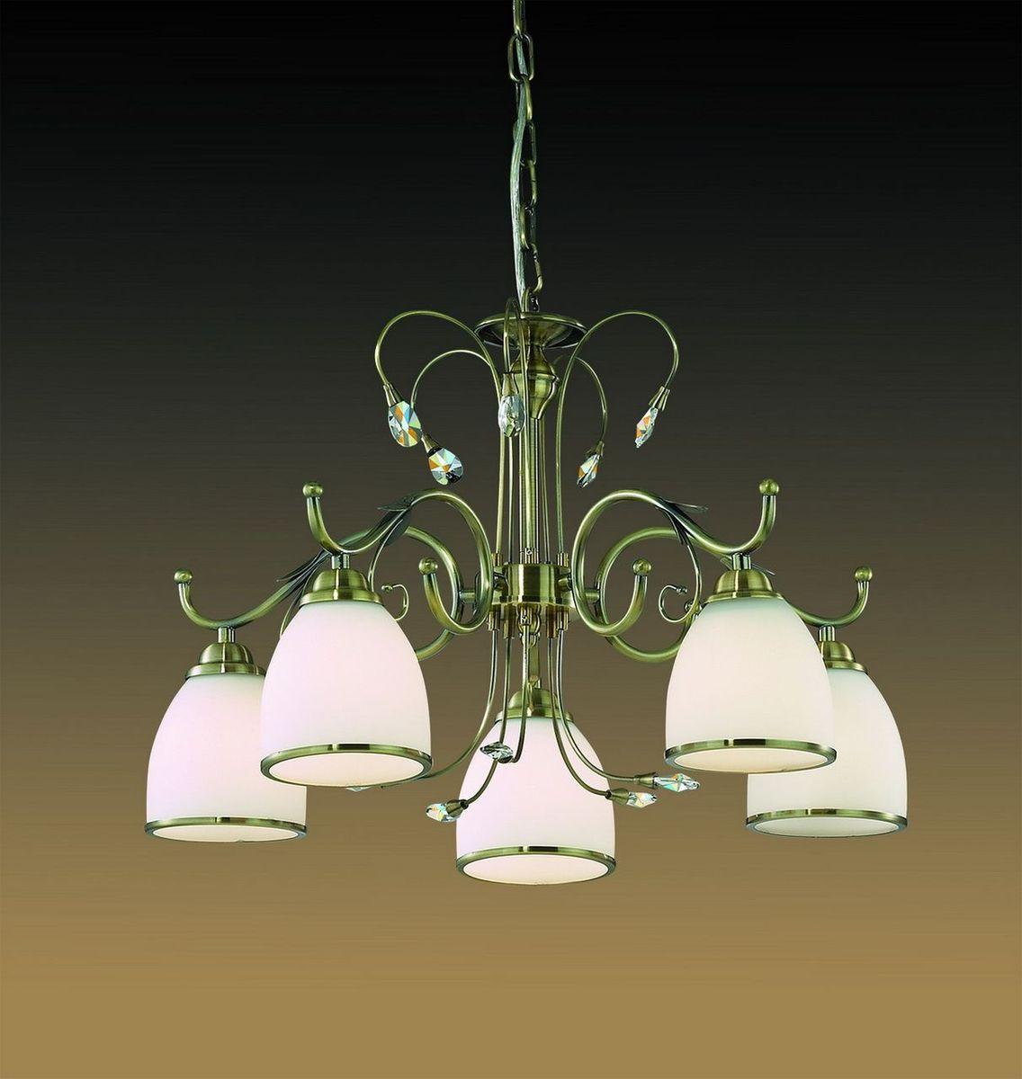 Люстра подвесная Odeon Light Mida, 5 х E27, 60W. 2242/52242/5