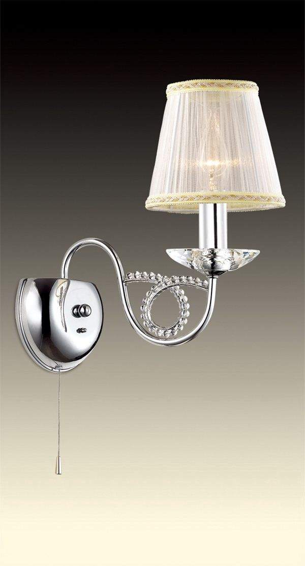 Бра Odeon Light Alta, 1 х E14, 60W. 2611/1W