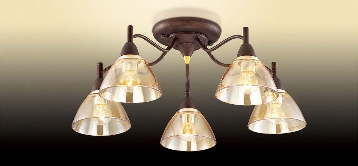 Люстра потолочная Odeon Light Treves, 5 х E14, 40W. 2625/5C2625/5C
