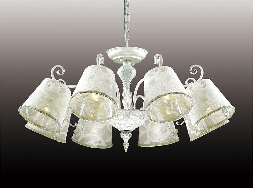Люстра подвесная Odeon Light Urika, 8 х E14, 60W. 2680/82680/8
