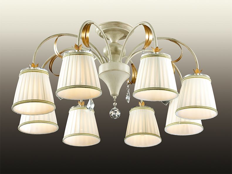Люстра потолочная Odeon Light Dagura, 8 х E14, 60W. 2682/82682/8