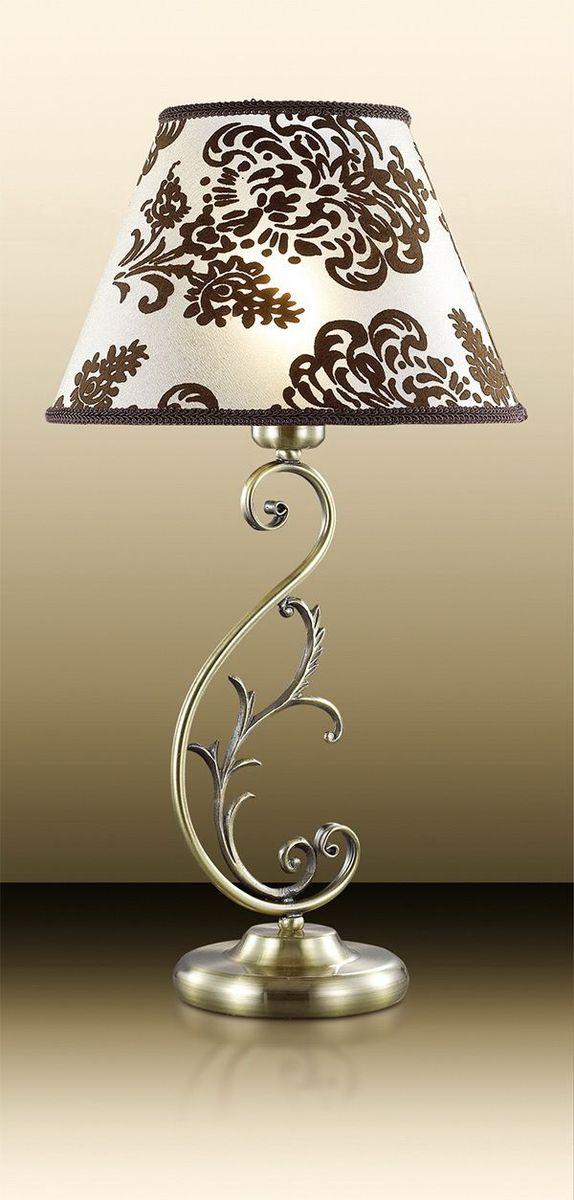 Лампа настольная Odeon Light Pari, 1 х E14, 60W. 2687/1T2687/1T
