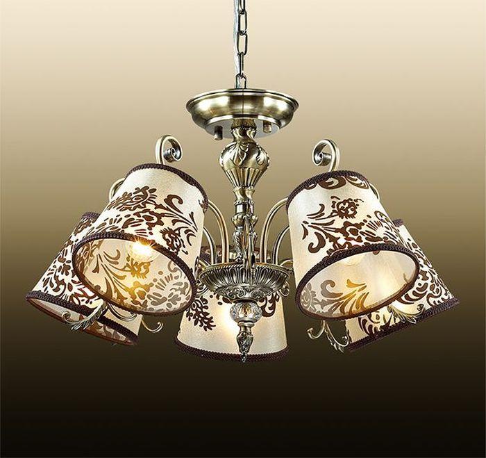 Люстра подвесная Odeon Light Pari, 5 х E14, 60W. 2687/5 odeon light подвесная люстра odeon light pari 2687 5