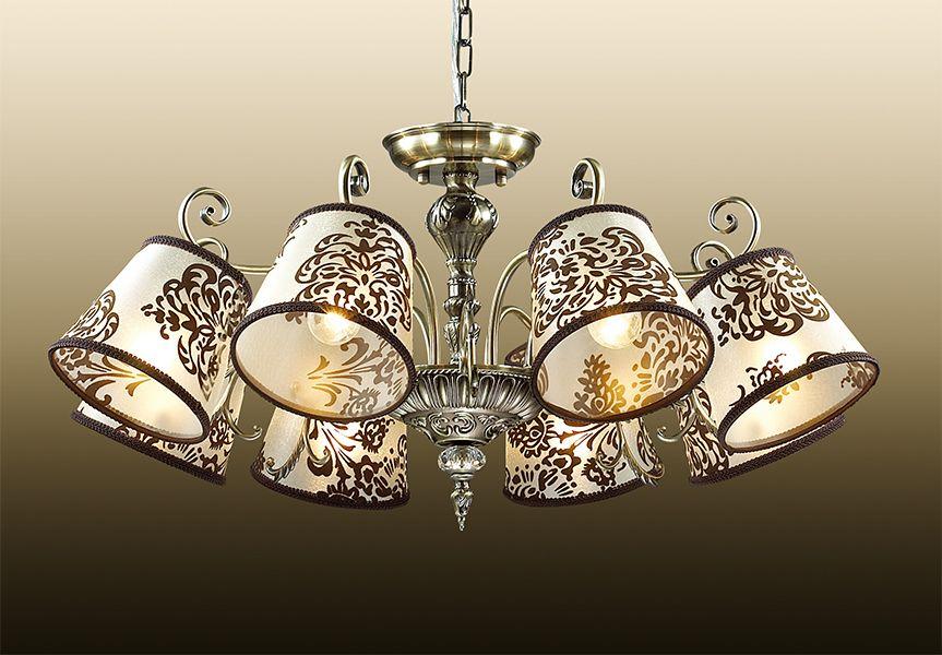 Люстра подвесная Odeon Light Pari, 8 х E14, 60W. 2687/82687/8